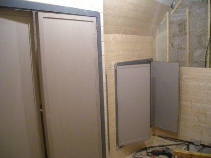 cadre et encadrement de porte en aluminium manuvital f